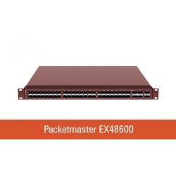 Cubro EX48600 - 48 x 1/10 Gbps és 6 x 40/100 Gbps aggregátor switch