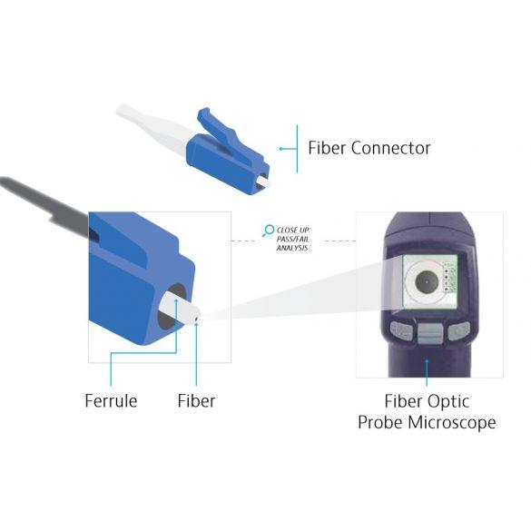 Viavi FiberCheck Probe mikroszkóp
