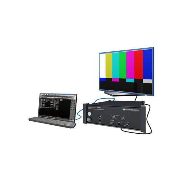 M41h és M41d Videó Tesztgenerátor és Analizátorok
