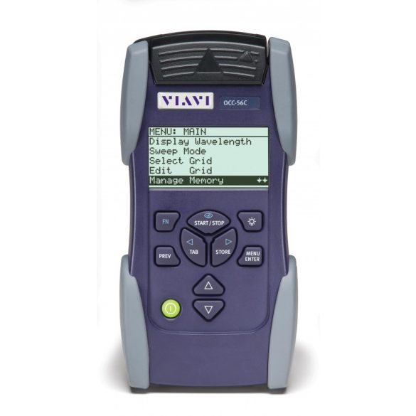 CWDM és DWDM csatornaanalizátor