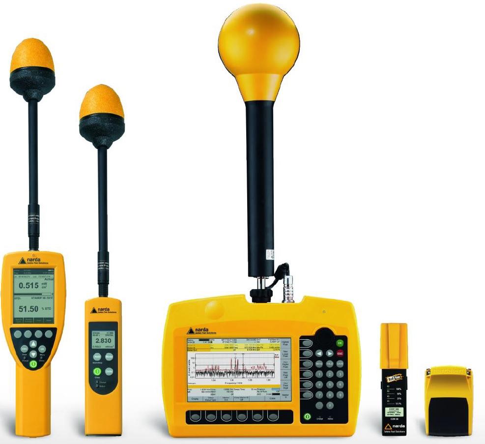 5G és RF sávú EMF mérés Narda műszerekkel